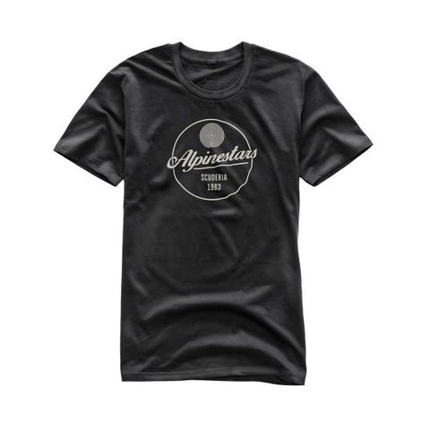 Playera Alpinestars Decal Negro - Brotherhood Biker Store
