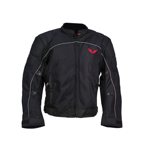 CHAMARRA COURAGE NEGRO BKR - Brotherhood Biker Store