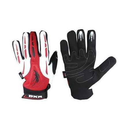 Guantes Calle Comand Negro Bco Rojo - Brotherhood Biker Store