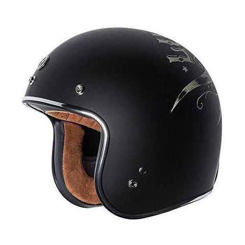 Casco T50 Torc Negro Bull Head - Brotherhood Biker Store