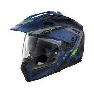 Nolan N70-2X Imperator Blue - Brotherhood Biker Store