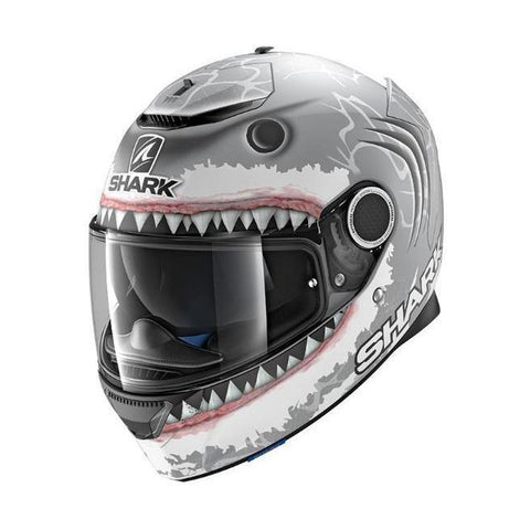CASCO SHARK SPARTAN LORENZO SHARK MATTE - Brotherhood Biker Store