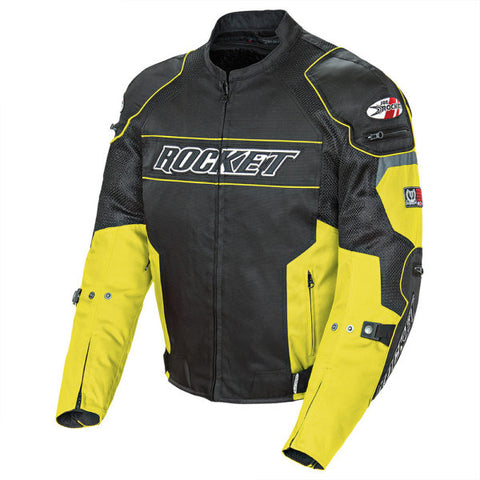 Chamarra Joe Rocket Resistor Mesh Amarillo - Brotherhood Biker Store