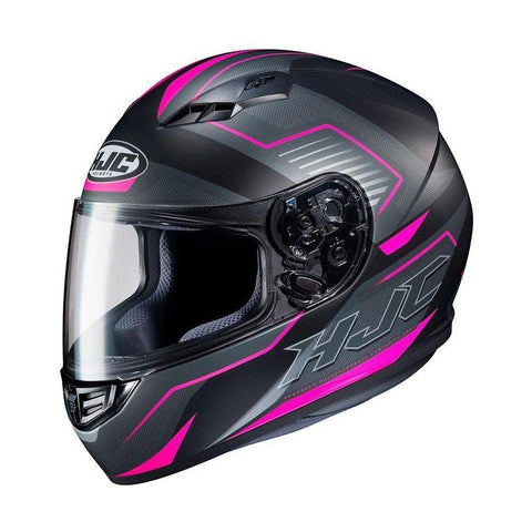 Casco HJC CS-15 Cerrado Trion Gris y Rosa - Brotherhood Biker Store