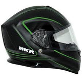 CASCO BKR ELITE NGO/VERDE GRAFICO PROPEL CERRADO - Brotherhood Biker Store