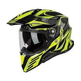 CASCO HELMET COMMANDER CARBON YELLOW