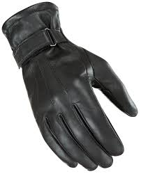 Guante Joe Rocket Jet Black Lined Piel Negro - Brotherhood Biker Store