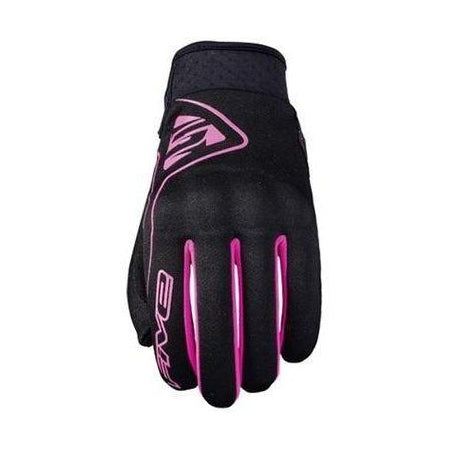 GUANTES FIVE GLOBE WOMAN NEGRO / ROSA