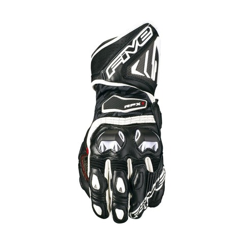 Guantes Five RFX1 Blanco y Negro - Brotherhood Biker Store