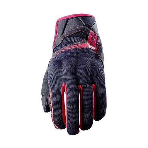 Guante Five RS3 Negro y Rojo - Brotherhood Biker Store