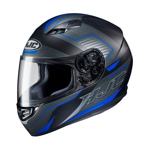 Casco Cerrado HJC CS-15 Trion Gris y Azul - Brotherhood Biker Store