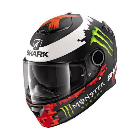 Casco SHARK Spartan 1.2 Replica Lorenzo Monster Mate 2018 - Brotherhood Biker Store
