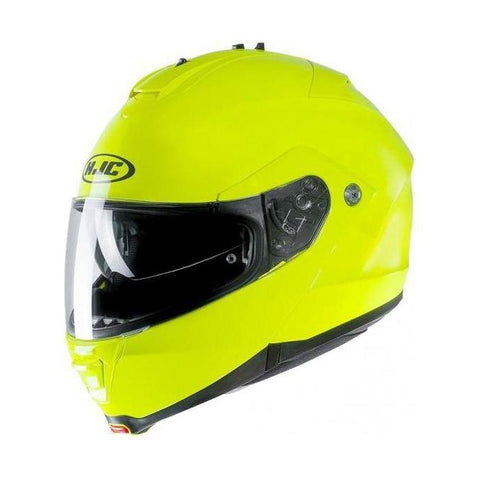 Casco Abatible ISMAX II Fluo Verde - Brotherhood Biker Store