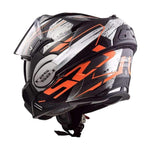 Casco Abatible LS2 Valiant 180  Roboto - Brotherhood Biker Store