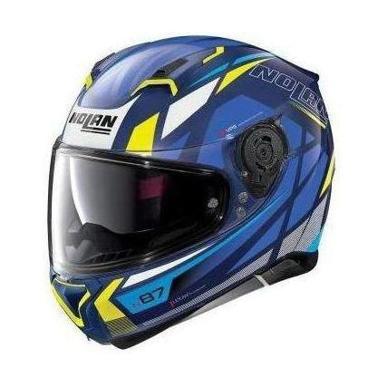 Casco Nolan N87 Originality Imperator Blue - Brotherhood Biker Store