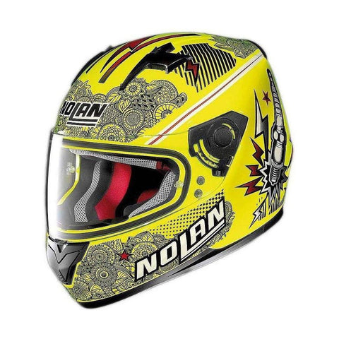 Casco Nolan N64 Lets Go Amarillo - Brotherhood Biker Store