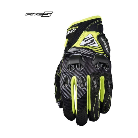 Five Stunt Evo Replica Fibra Amarillo - Brotherhood Biker Store