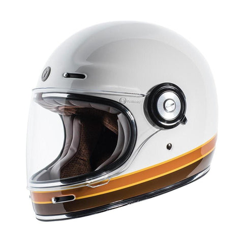 Casco T1 Bco Iso Bars - Brotherhood Biker Store
