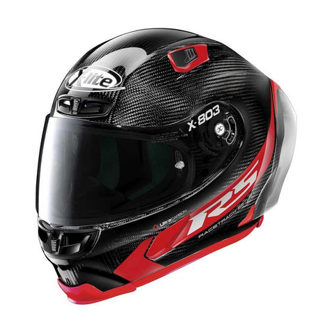 X-Lite X-803RS Hot Lap Red Ultra Carbon - Brotherhood Biker Store