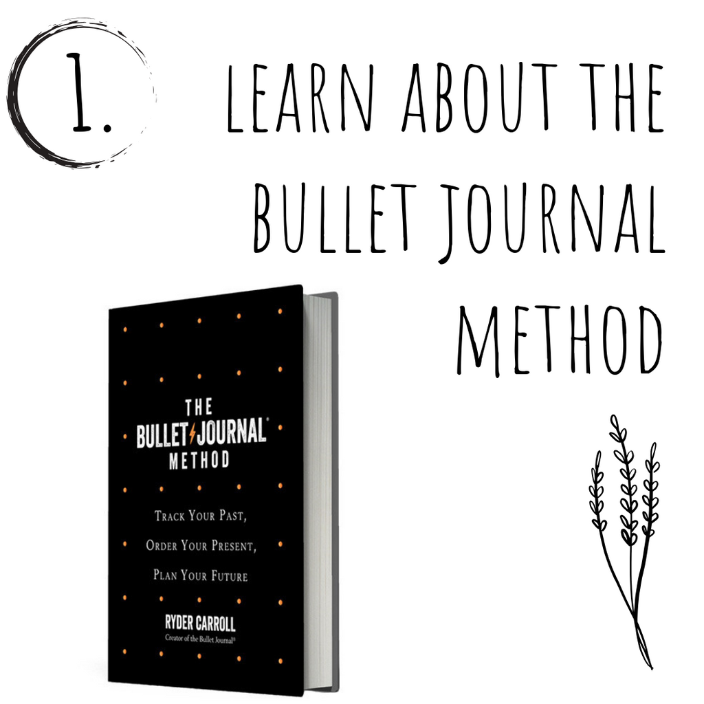 Learn about the bullet journal method
