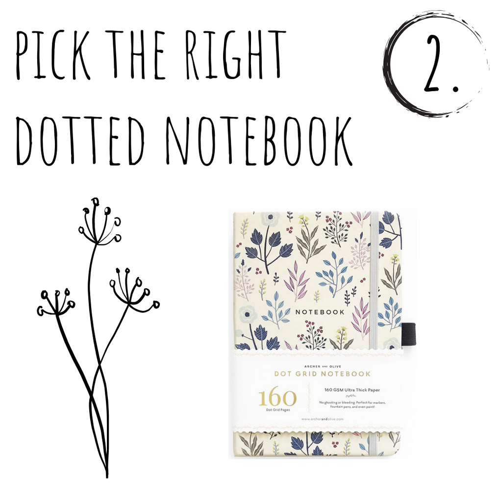 Pick the right dotted notebook