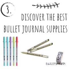 Discover the best bullet journal supplies