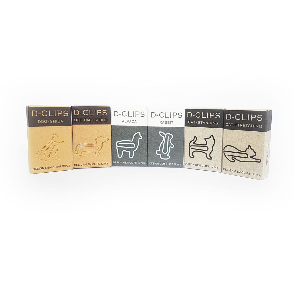 Rabbit Paper Clips - 12pcs - Paper Kooka