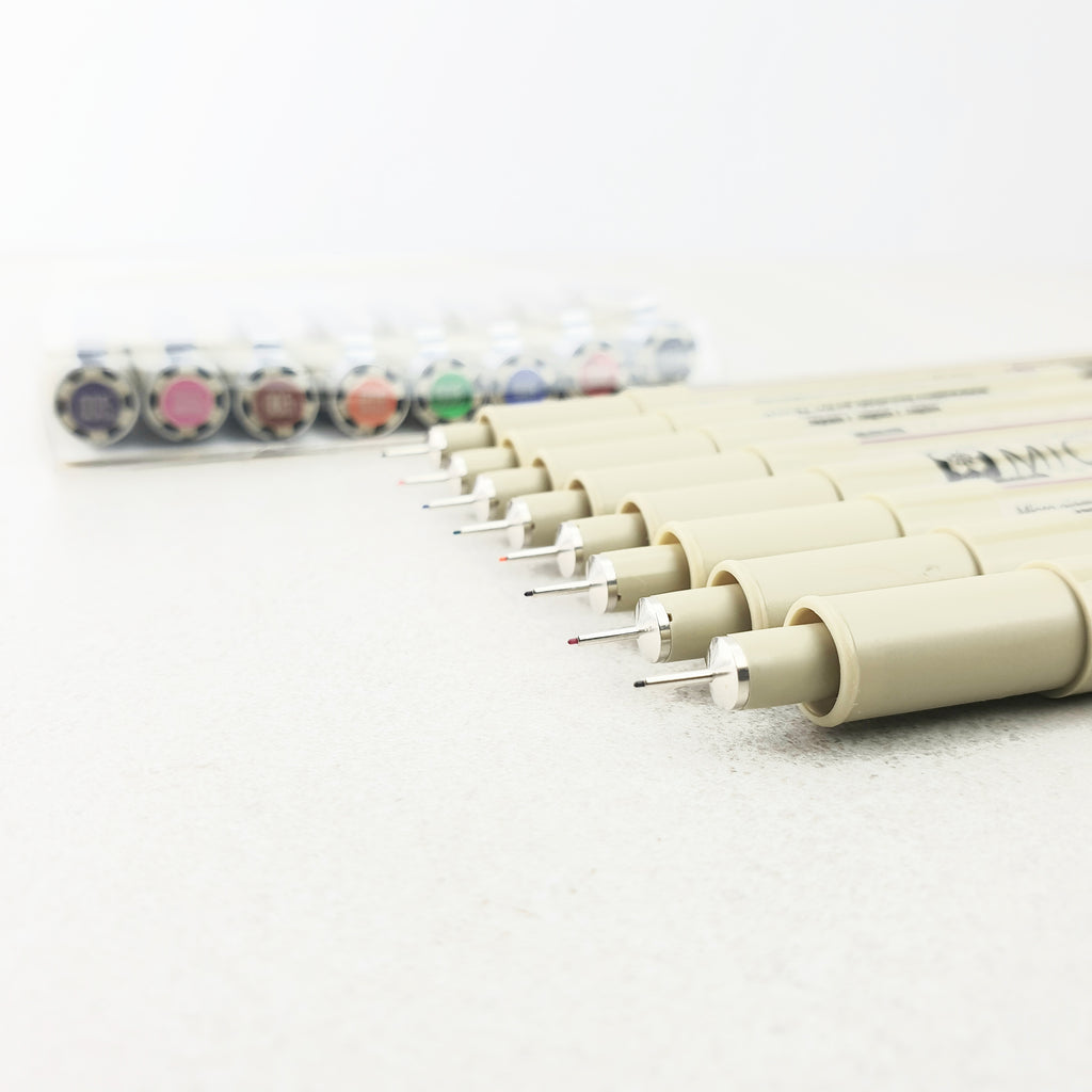 Sakura Pigma Micron - 8 Colour Set - size 005 (0.20mm) - Have a Point