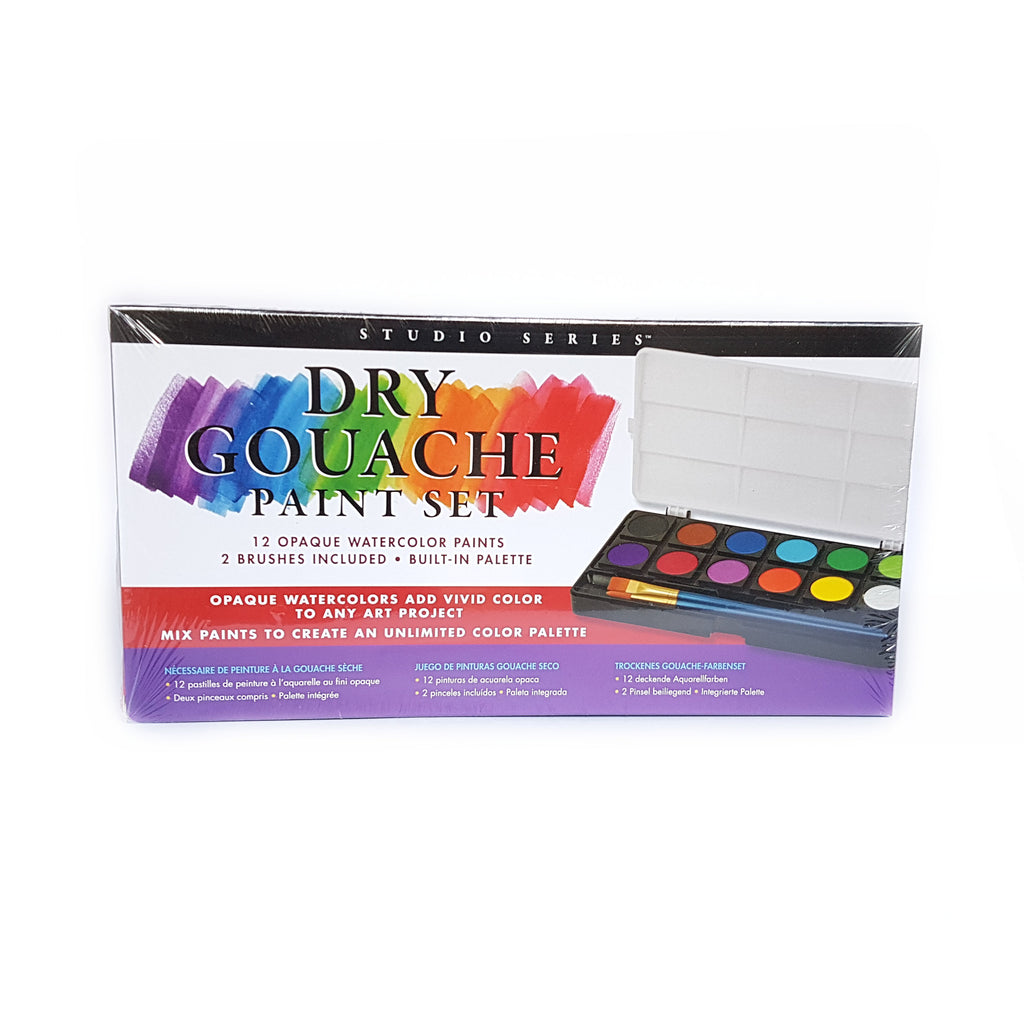 Dry Gouache Paint Set - 12 colours - Have a Point