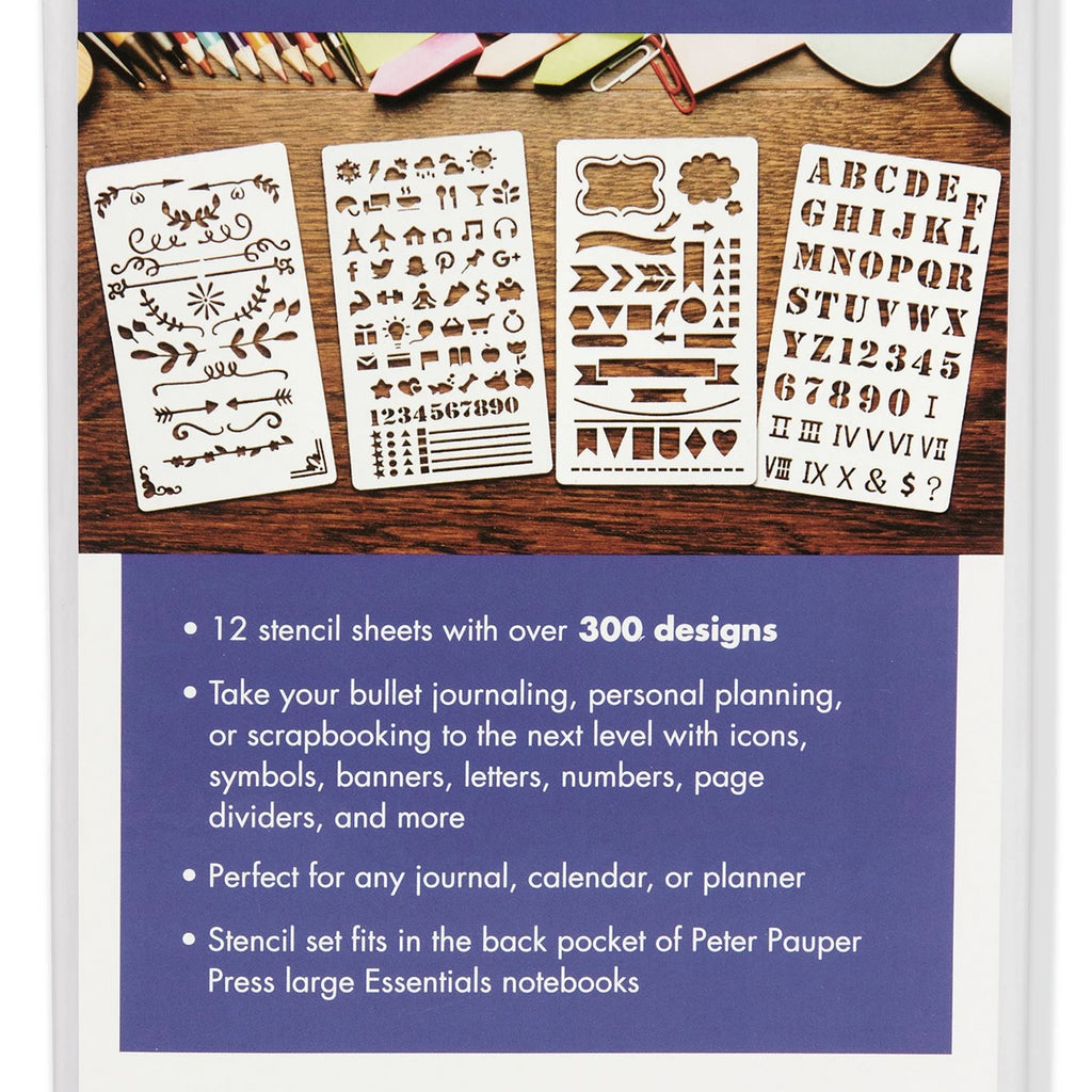 Dotted Journal Stencil Set - Paper Kooka