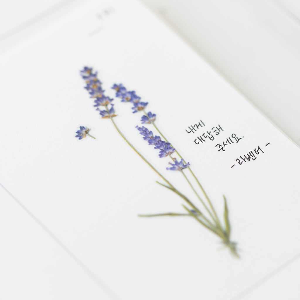 Pressed Flower Stickers - Lavender - Have a Point
