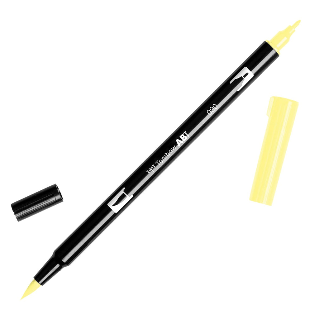 Tombow Dual Brush Pen - Yellow Colour Range - Have a Point