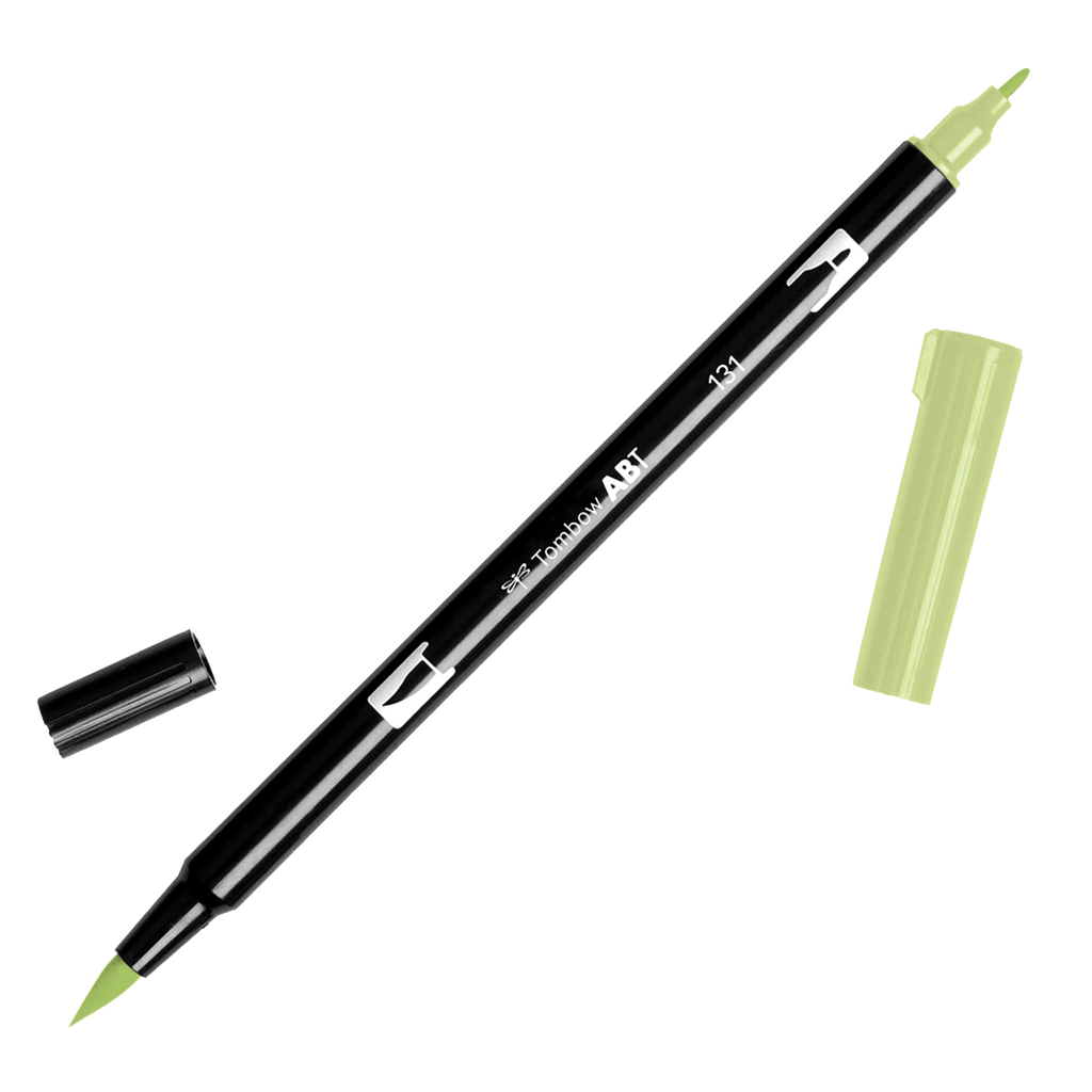 Tombow Dual Brush Pen - Yellow Green Colour Range - Have a Point