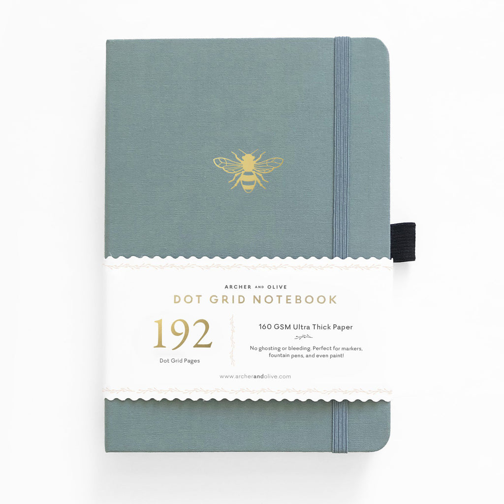 Archer & Olive Vintage Bee - A5 dotted, 160gsm journal - 192 pages - Paper Kooka