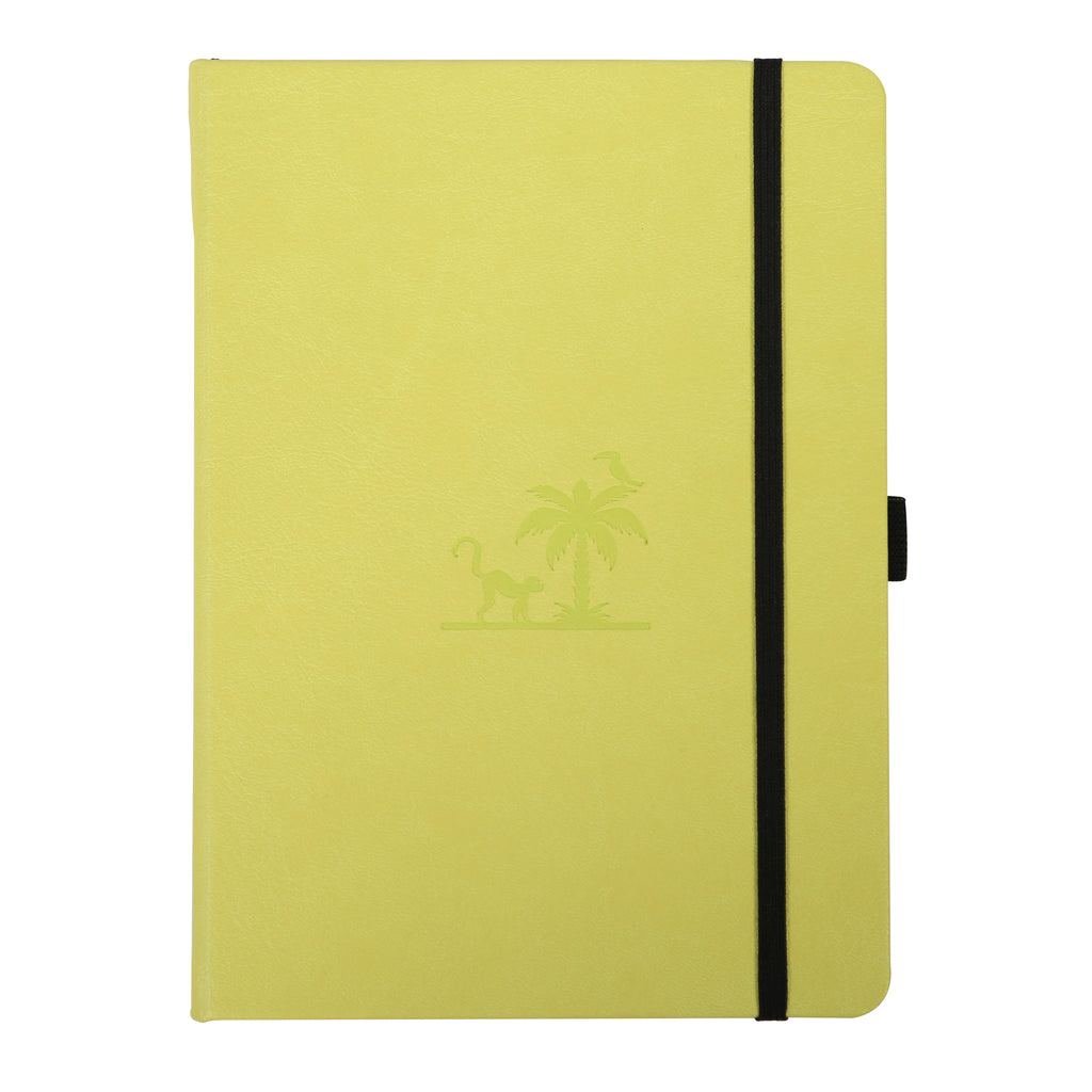 EARTH - Lime Yasuni - dotted A5+ journal - Paper Kooka