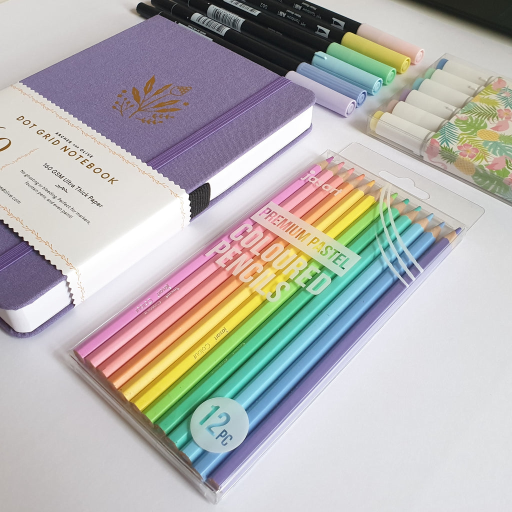 Jasart Premium Pastel Colour Pencils Set - Have a Point