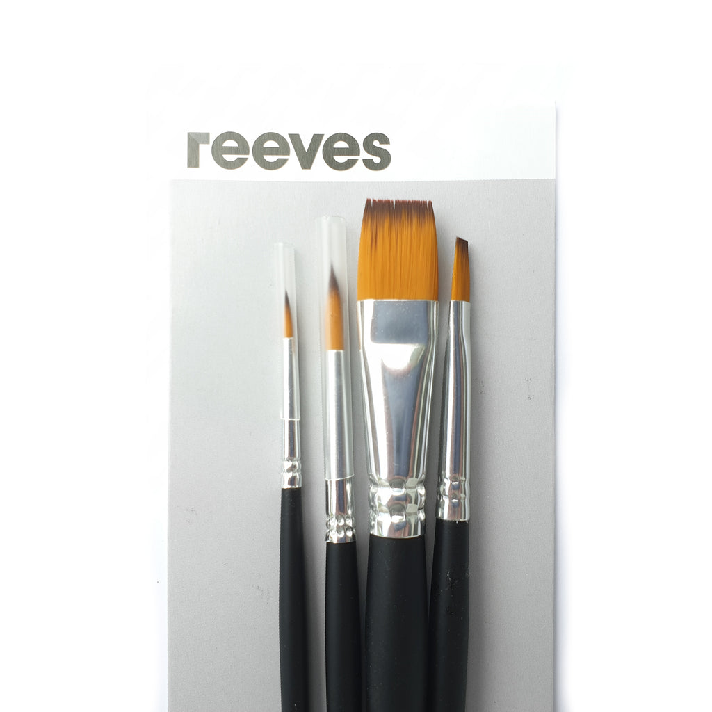 Reeves Water Colour - 4 Brush Set - Have a Point