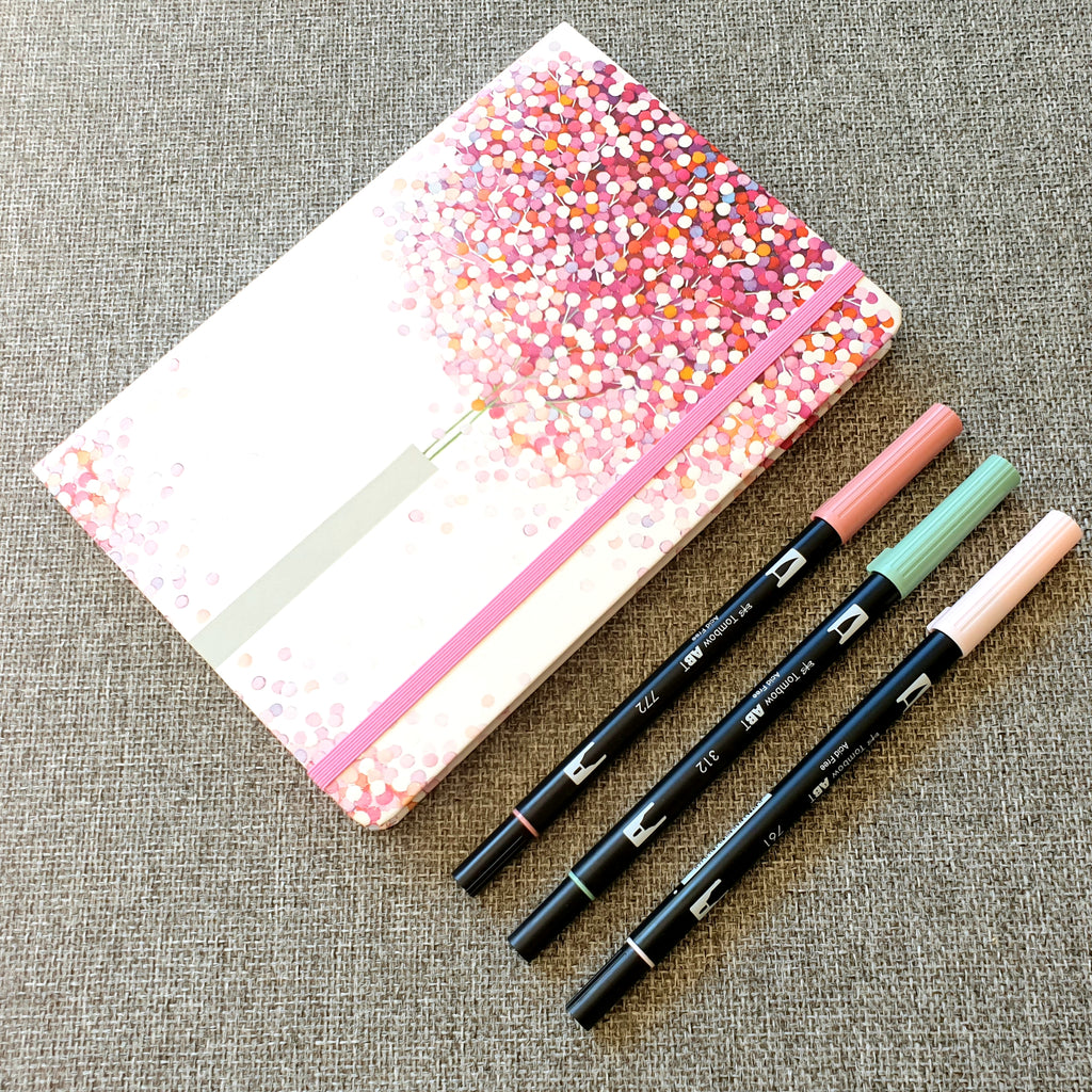 A5 Dotted Notebook - Lollipop Tree - Paper Kooka