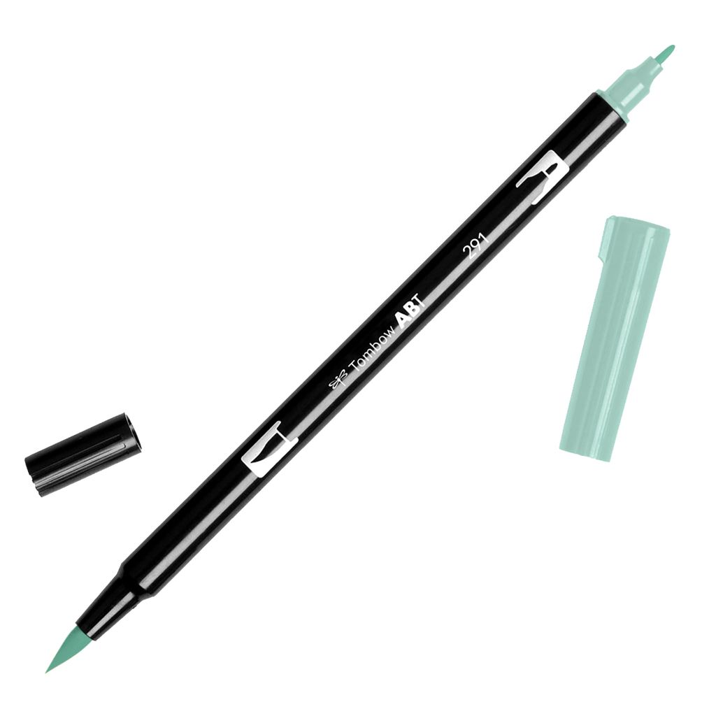 Tombow Dual Brush Pen - Green Colour Range - Have a Point
