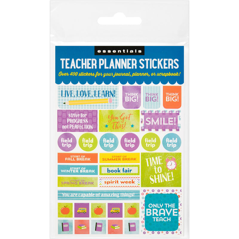 Teacher Planner Stickers - 12 sheets - Paper Kooka