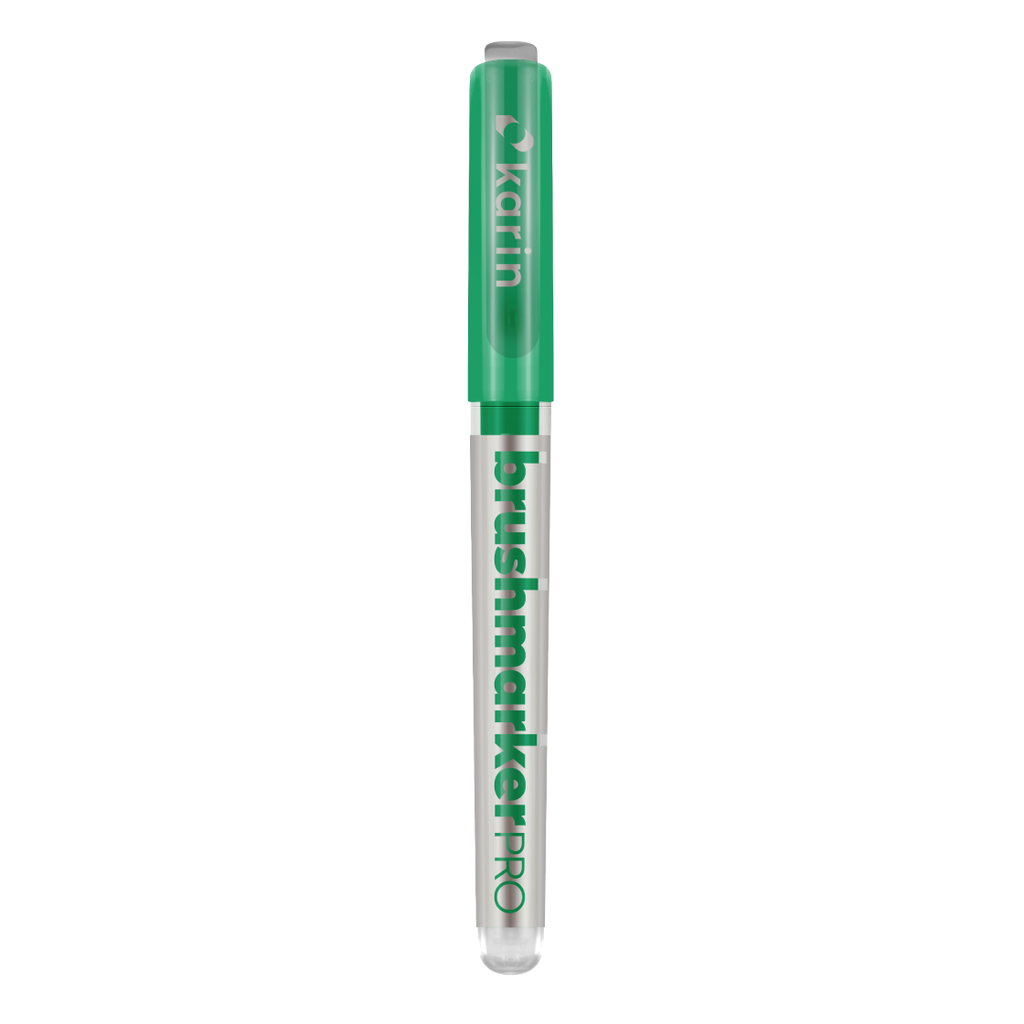 Karin BrushmarkerPRO brush pens - green range - Have a Point