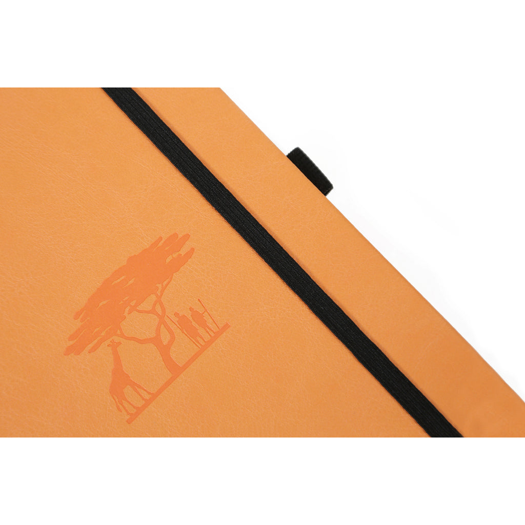 EARTH - Tangerine Serengeti - dotted A5+ journal - Paper Kooka