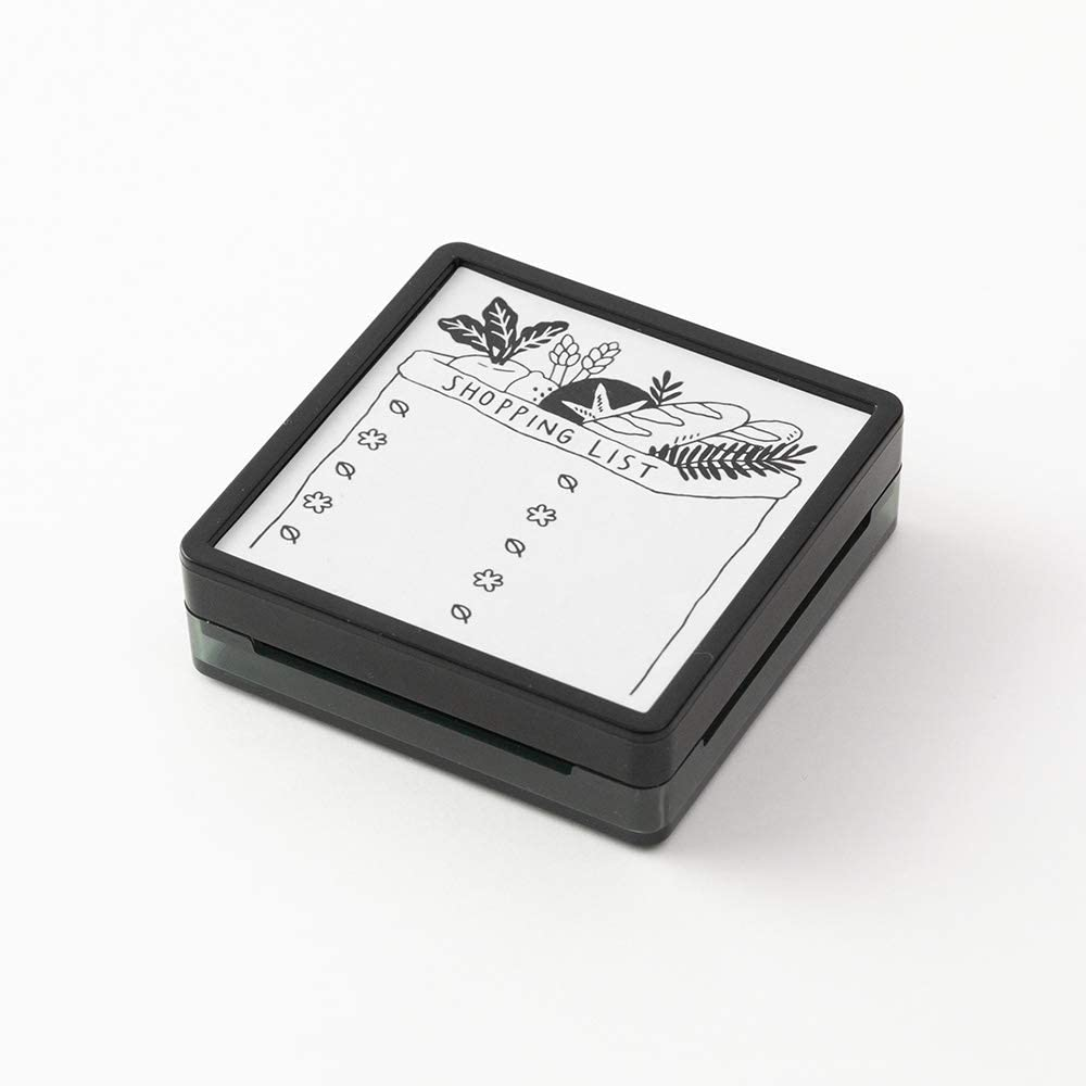 Self-inking Stamp - Shopping List - Paper Kooka