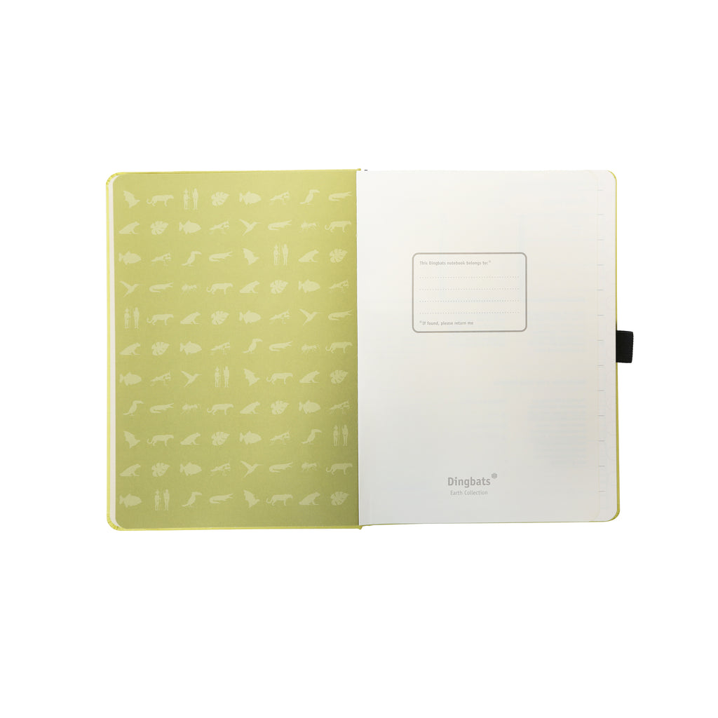 EARTH - Lime Yasuni dotted Bullet Journal - Dingbats* A5+ - Have a Point