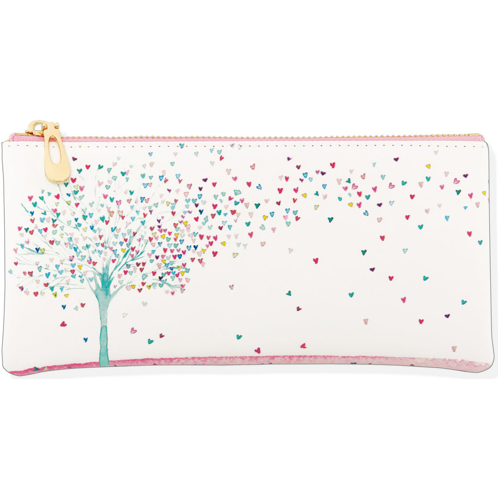 Pencil Pouch - Tree of Hearts - Paper Kooka