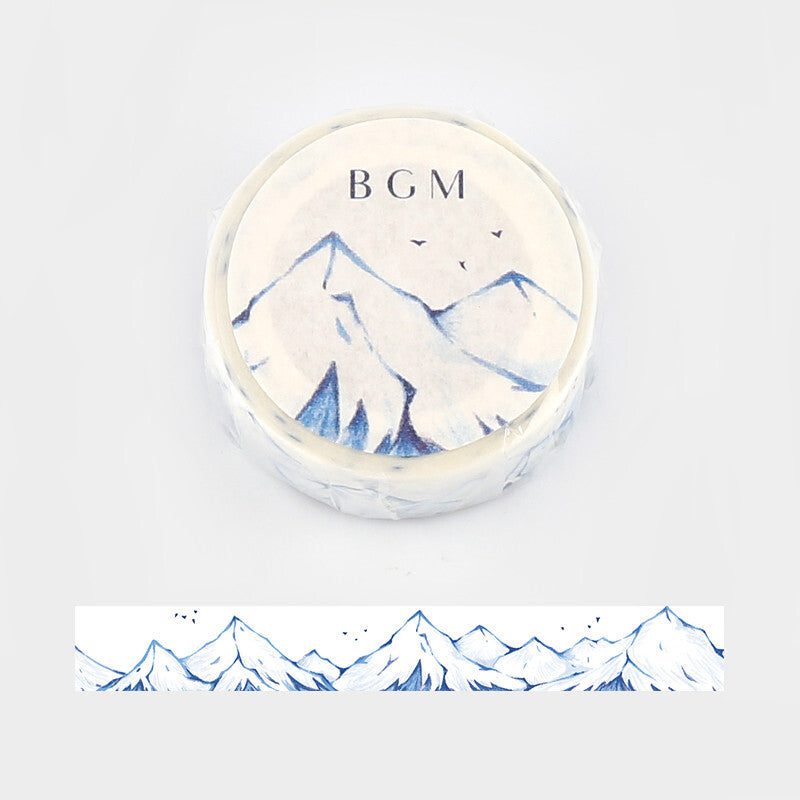 Snowy Mountain washi tape - Paper Kooka