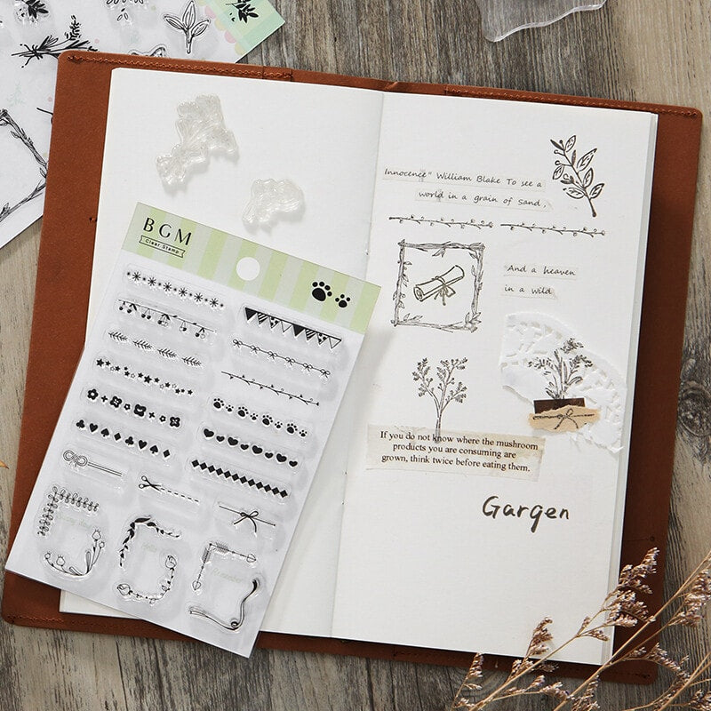Decorations Clear Stamps - Paper Kooka