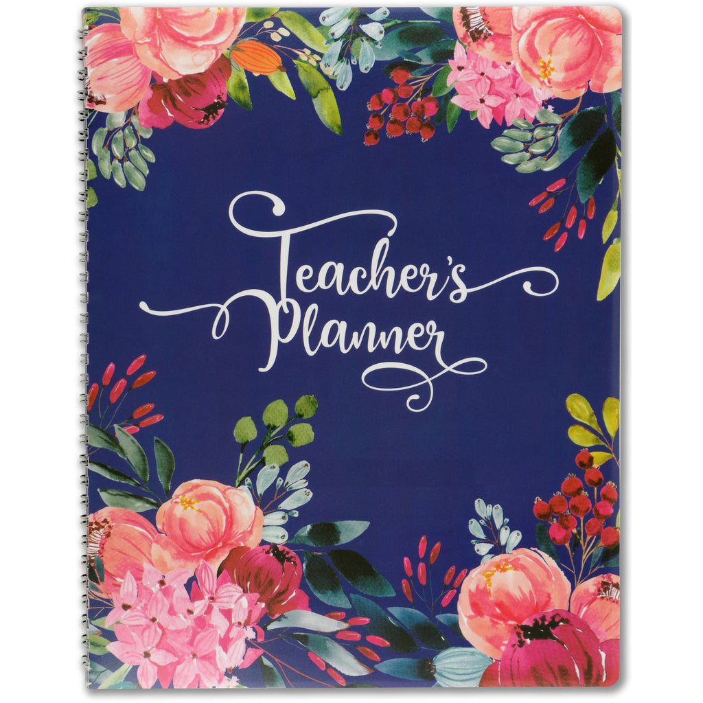 Floral Teacher's Lesson Planner - Have a Point
