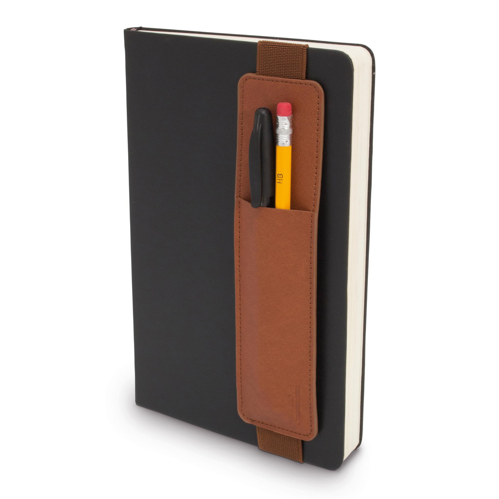 Bookaroo Pen Pouch for Notebooks - Brown - Paper Kooka