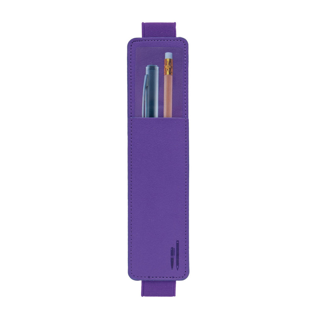 Bookaroo Pen Pouch for Notebooks - Purple - Paper Kooka